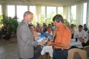 Gottfried Tonhäuser dankte im Namen des Ministers